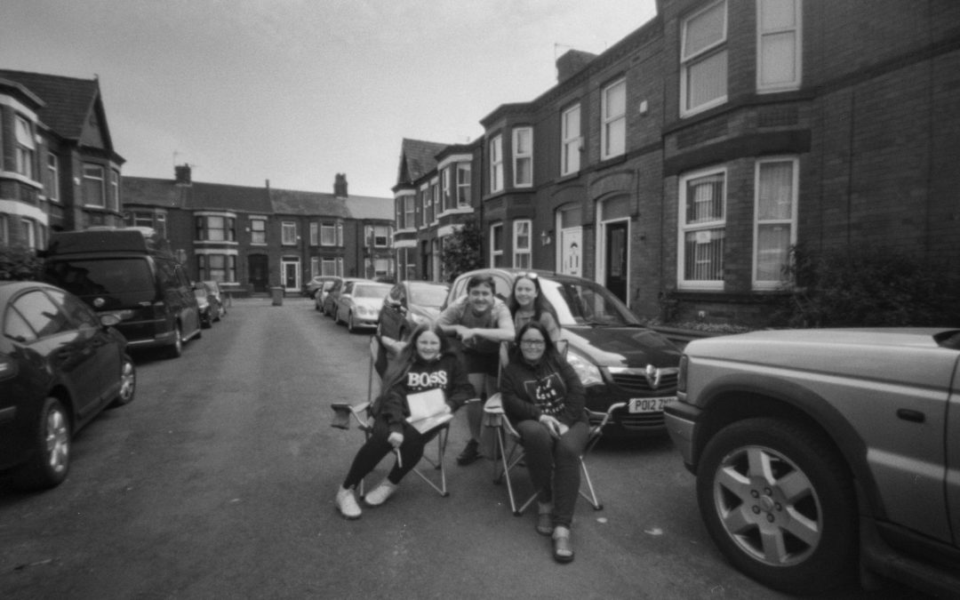 15: Lockdown 'Street Bingo' Captured in Pinhole by Rachel Brewster-Wright