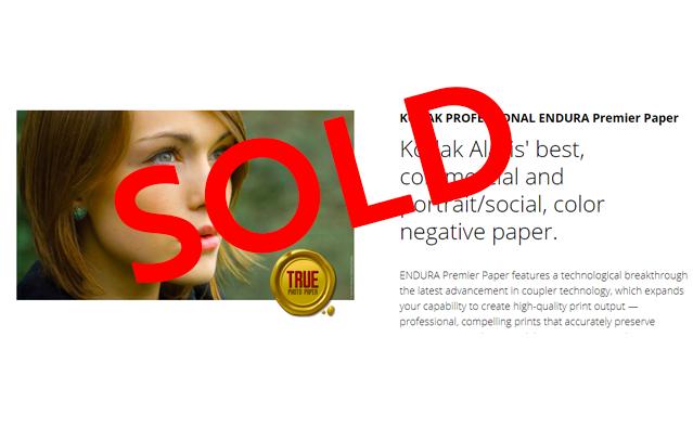 Kodak Paper Business sold to Hong Kong based Sinopromise Holdings