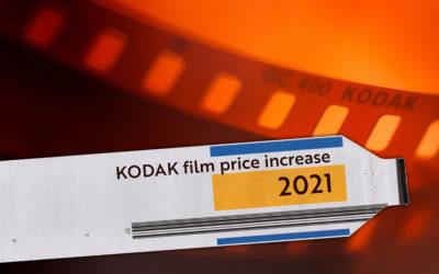 2021 Kodak Film Price Increase Announced