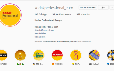 In Case You Wondered: Once Upon a Time on Instagram. Behind @kodakprofessional_europe