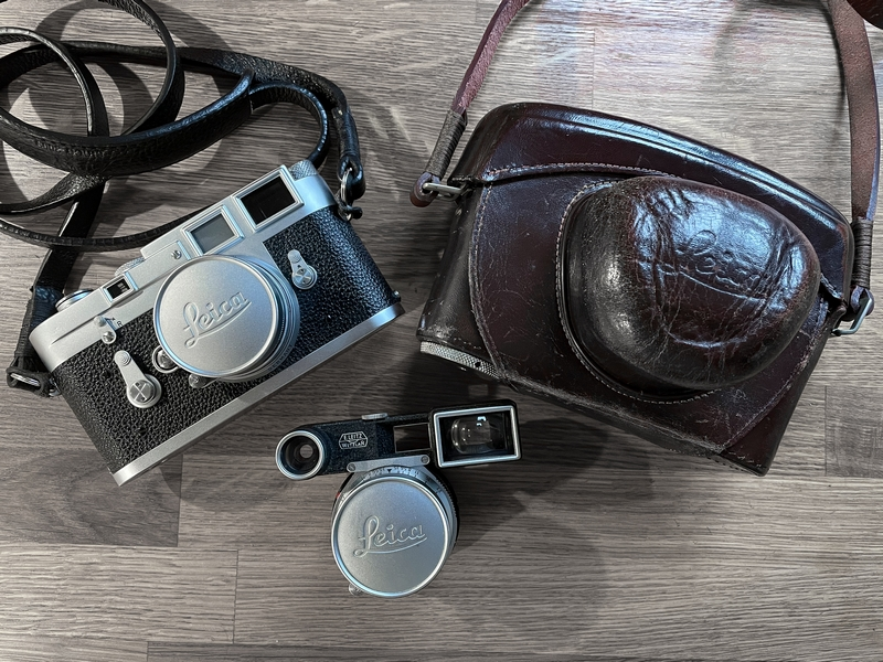 David Collyer – on how he met his Leica M3