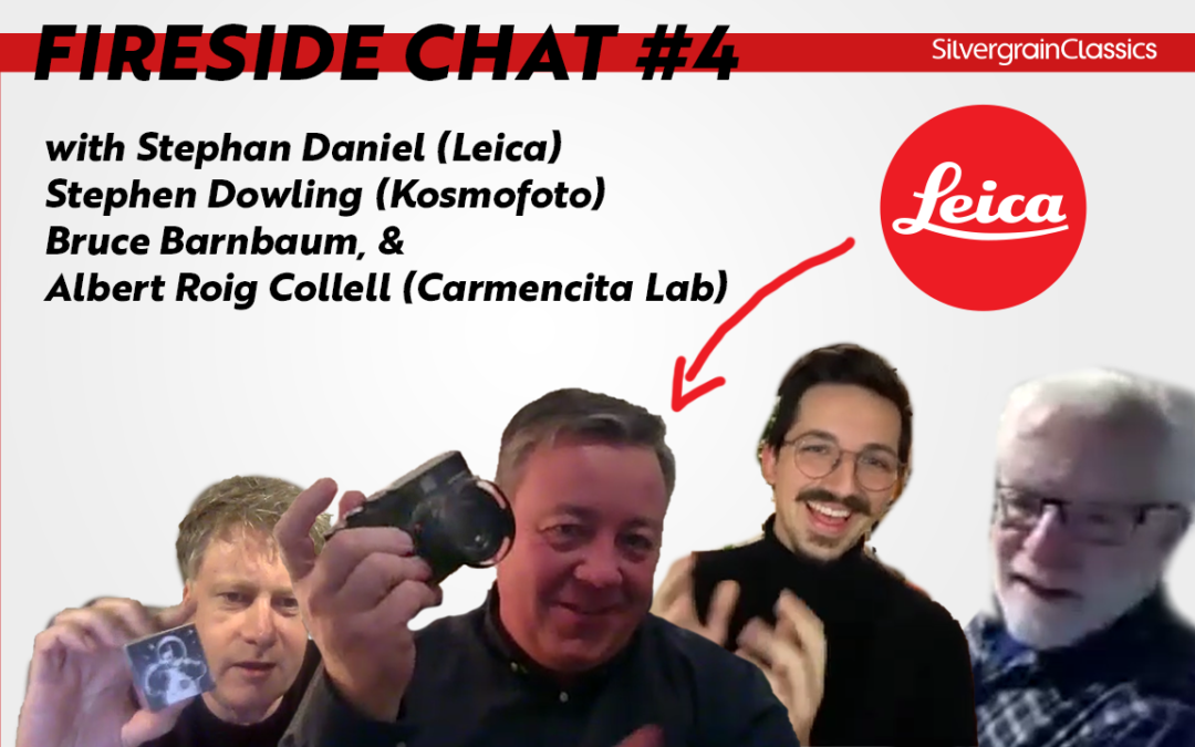 The Long Watch: Fireside Chat with Leica, Bruce Barnbaum, Carmencita Lab & Kosmo Foto