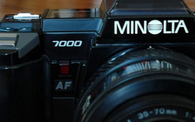 Minolta 7000 – the Plastic Fantastic Camera that Shocked the World