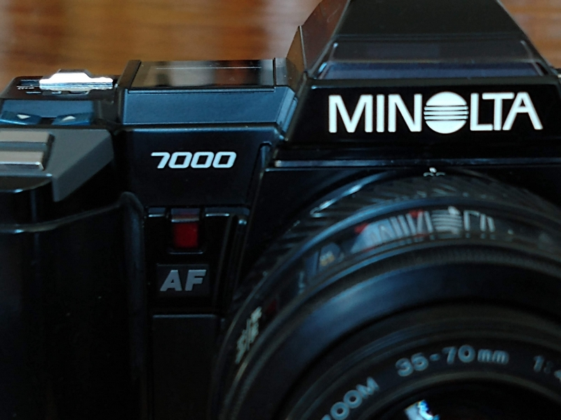 Minolta 7000 – the Plastic Fantastic Camera that Shocked the World