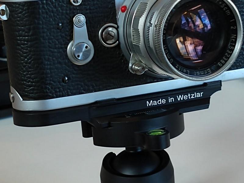 Leica M series Arca-Swiss tripod plate