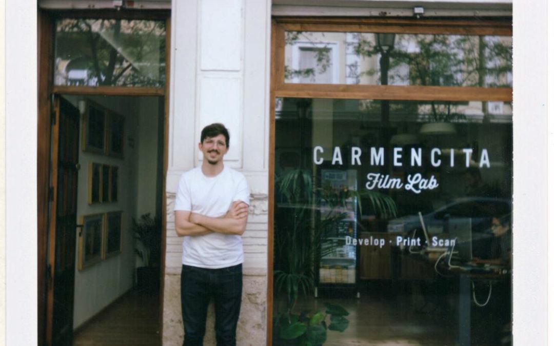 SilvergrainConnection Podcast Episode 5:  Carmencita – The Original European Film Lab!